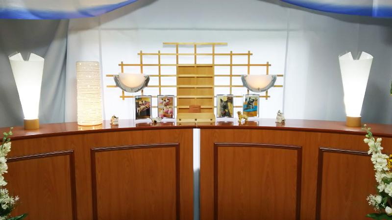 ペット専用祭壇